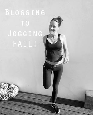 Blogging to Jogging- FAIL!