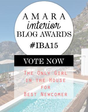 Very Flattered – Amara Interior Blog Awards 2015