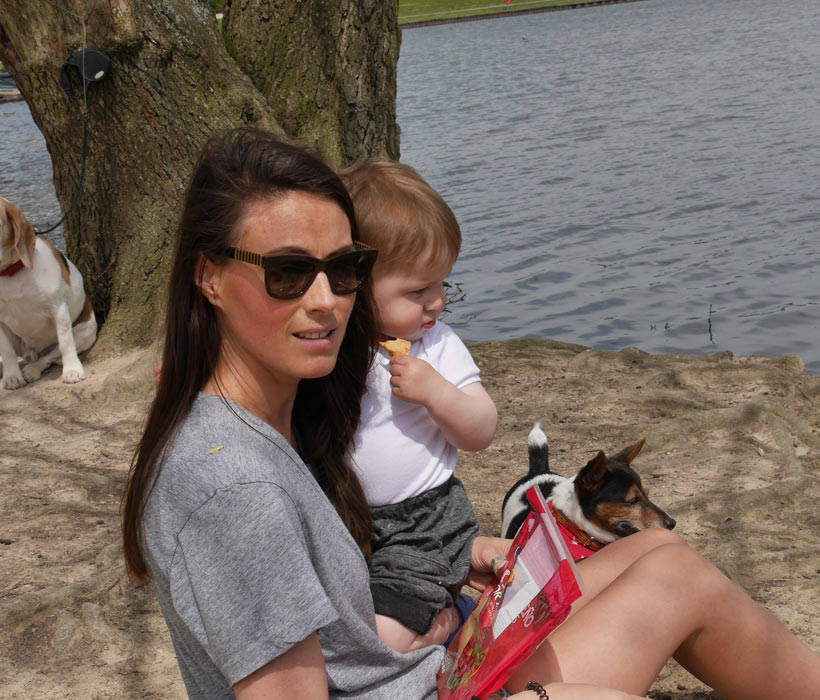 The Only Girl in the House Blog, First Days of Summer 2016 Photo Diary of a life with boys. Feeding the swans and getting out with a toddler