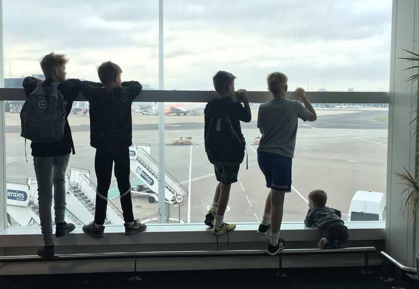 Pre-Kidders on Planes