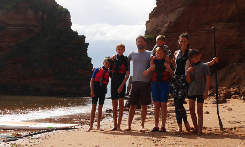 Our Stay at Ladram Bay, South Devon Family Holiday