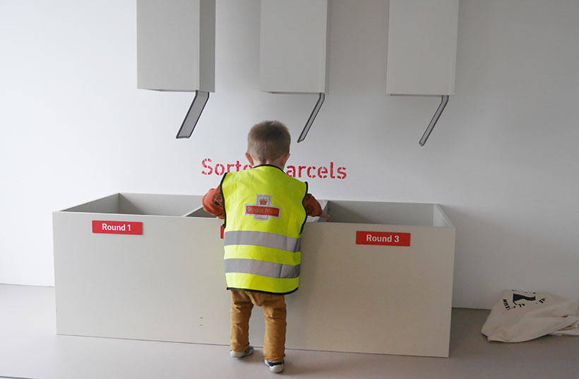 sorting office play