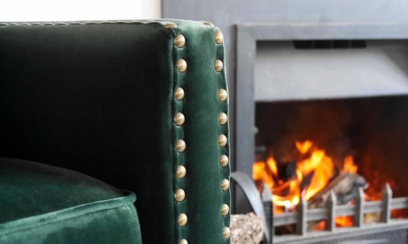 Classic Velvet Chair