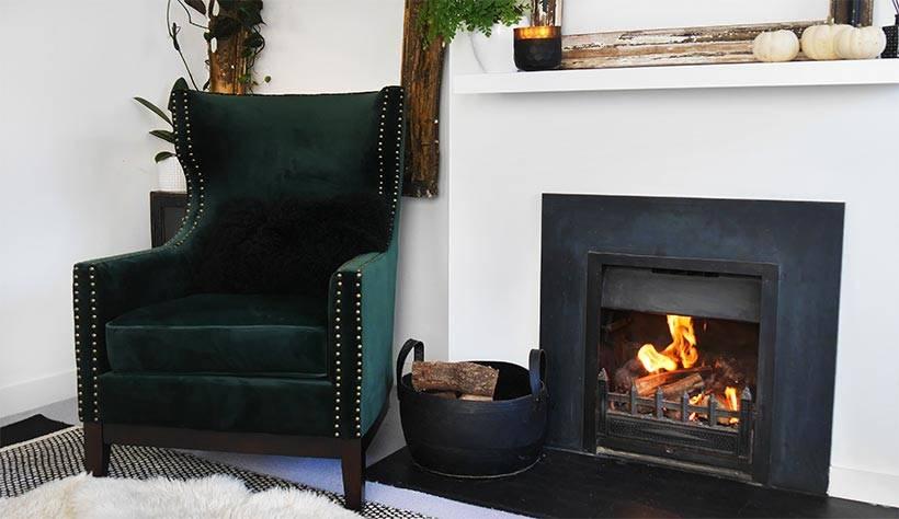 Wayfair UK Green Velvet chair